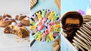 Turn Leftover Easter Candy into Brownie Bombs, Candy Cakes, and More