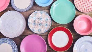 Redecorating? Pick Up Some Plates at the Thrift Store