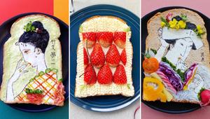 This Food Artist Creates Masterpieces on Toast