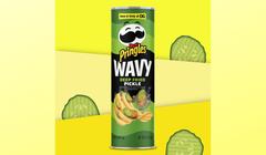 Deep Fried Pickle Pringles? Yes, Please!