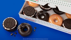 Krispy Kreme Has Launched Oreo Cookie Doughnuts