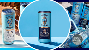 You Can Now Get a Bombay Sapphire Gin and Tonic In a Can