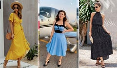 9 Darling Polka Dot Summer Dresses