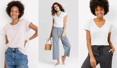 Find the Perfect White T-Shirt to Layer in Style