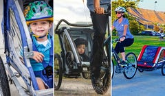 Tow Your Kids Along with These Comfy Bike Trailers