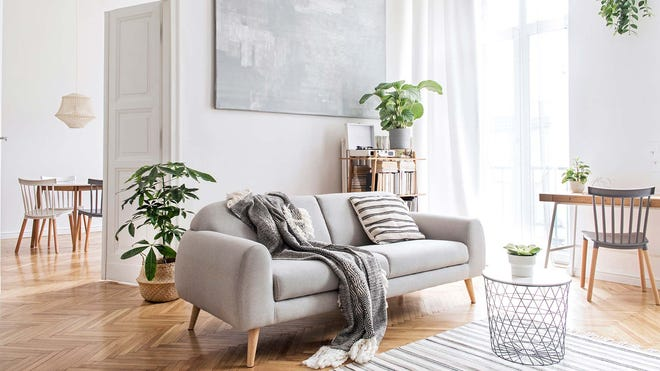 Spring Cleaning Day 20: Living Room Floors and Keeping Things Tidy