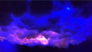 This Viral DIY Cloud Ceiling Is Lit