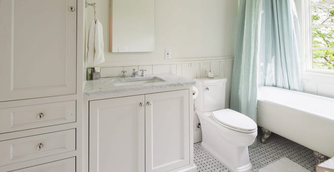 Spring Cleaning Day 15: Launder the Shower Curtain and Bath Mats