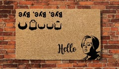 These Quirky Welcome Mats Are Sure to Make Your Guests Grin