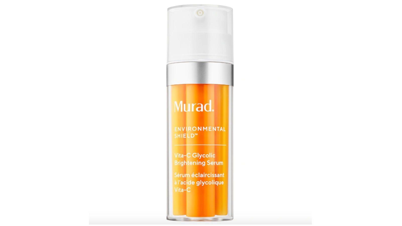 orange bottle of Murad serum