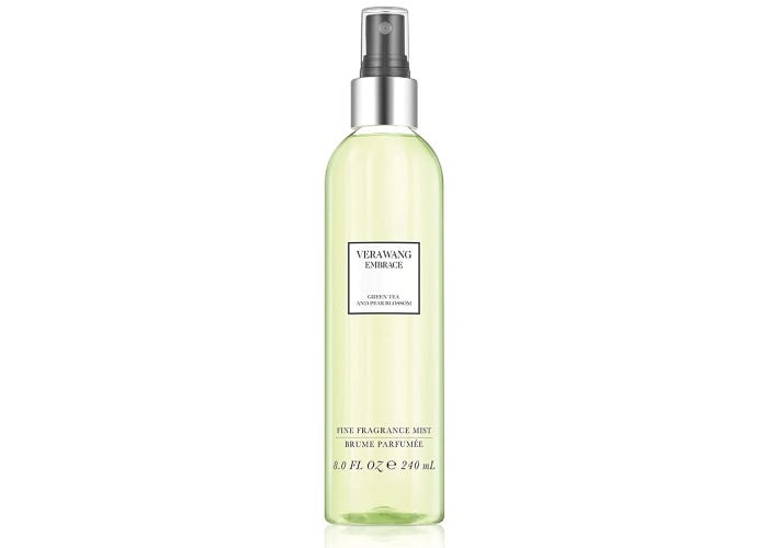 spray bottle of Vera Wang's Endurance perfume