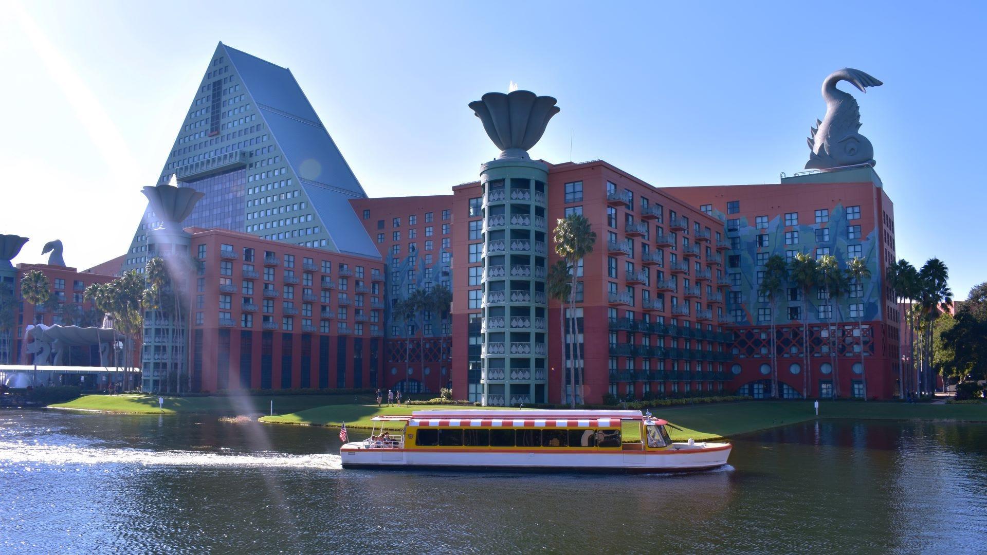 A Disney World hotel on Lake Buena Vista.