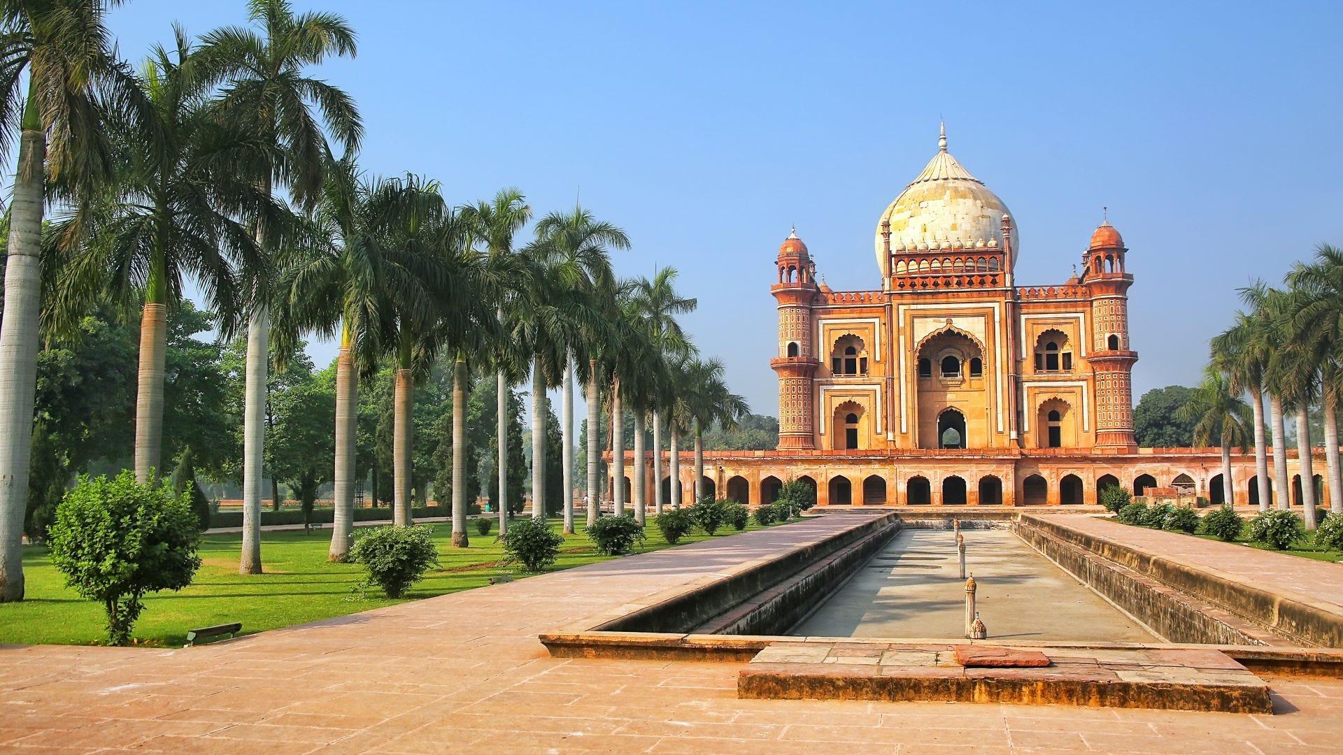 The Tomb of Safdarjung in New Delhi, India.