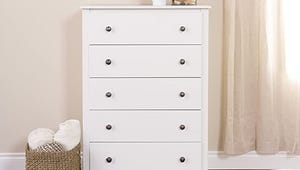 The Best White Dressers for Classic Organization