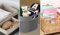 Get Organized with These Stylish & Sturdy Open Storage Bins
