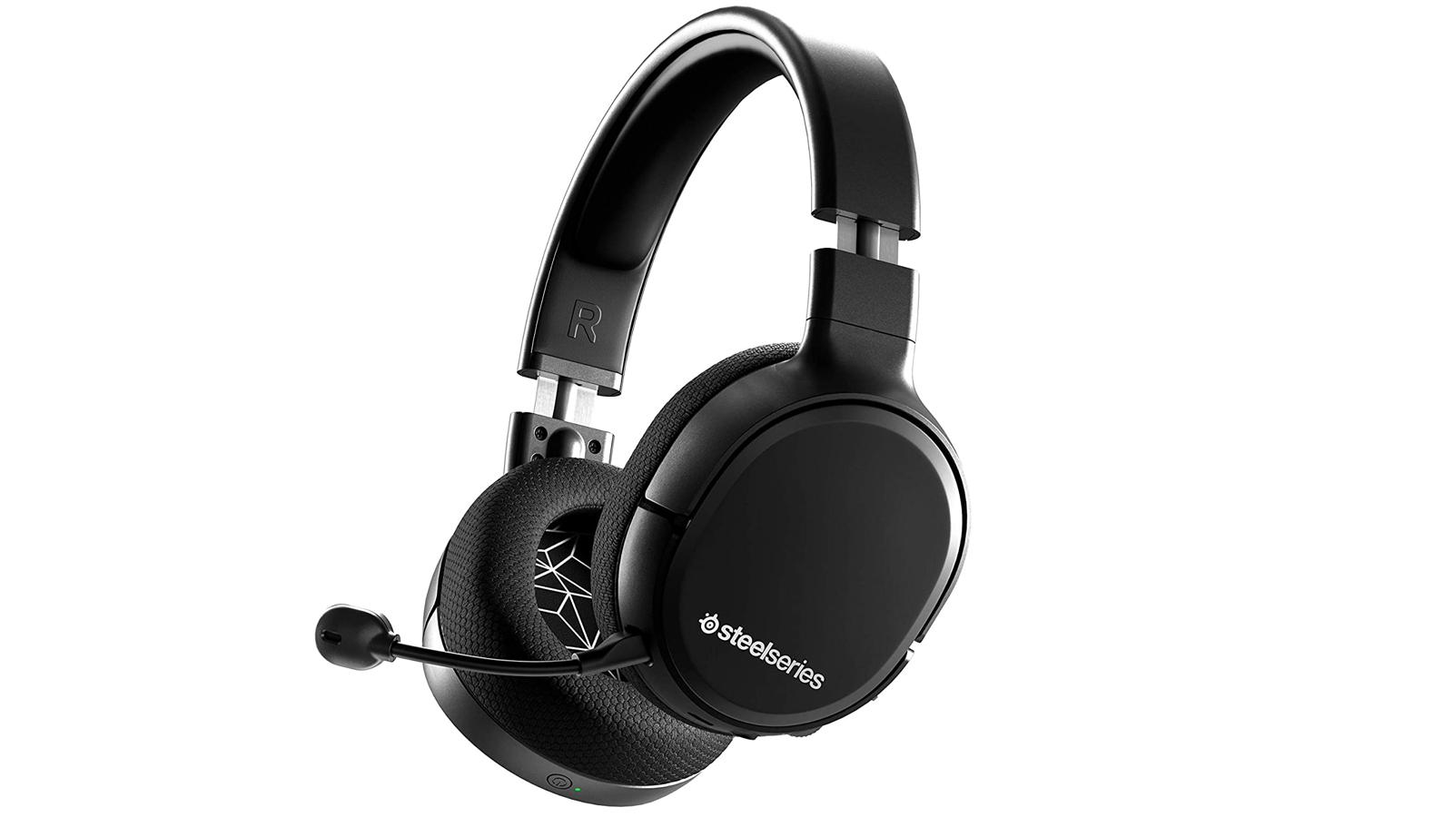 chunky black wireless gaming headset