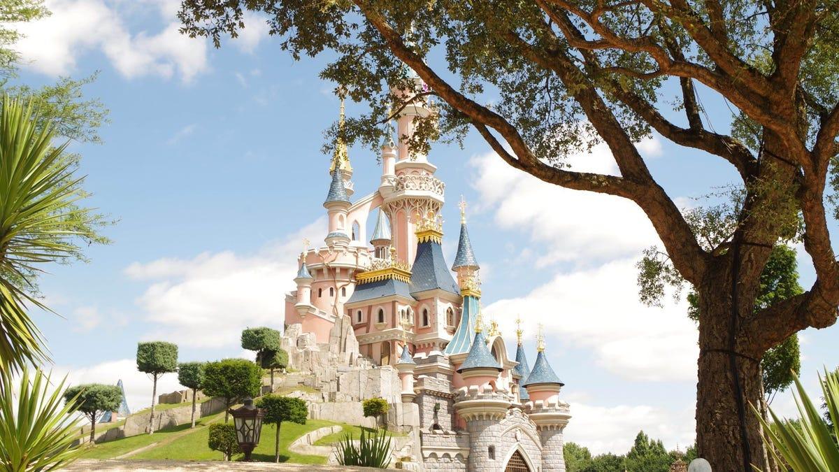 Sleeping Beauty's Castle at Disneyland in Paris.
