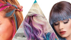 Add Some Summer Flair with Hair Chalk