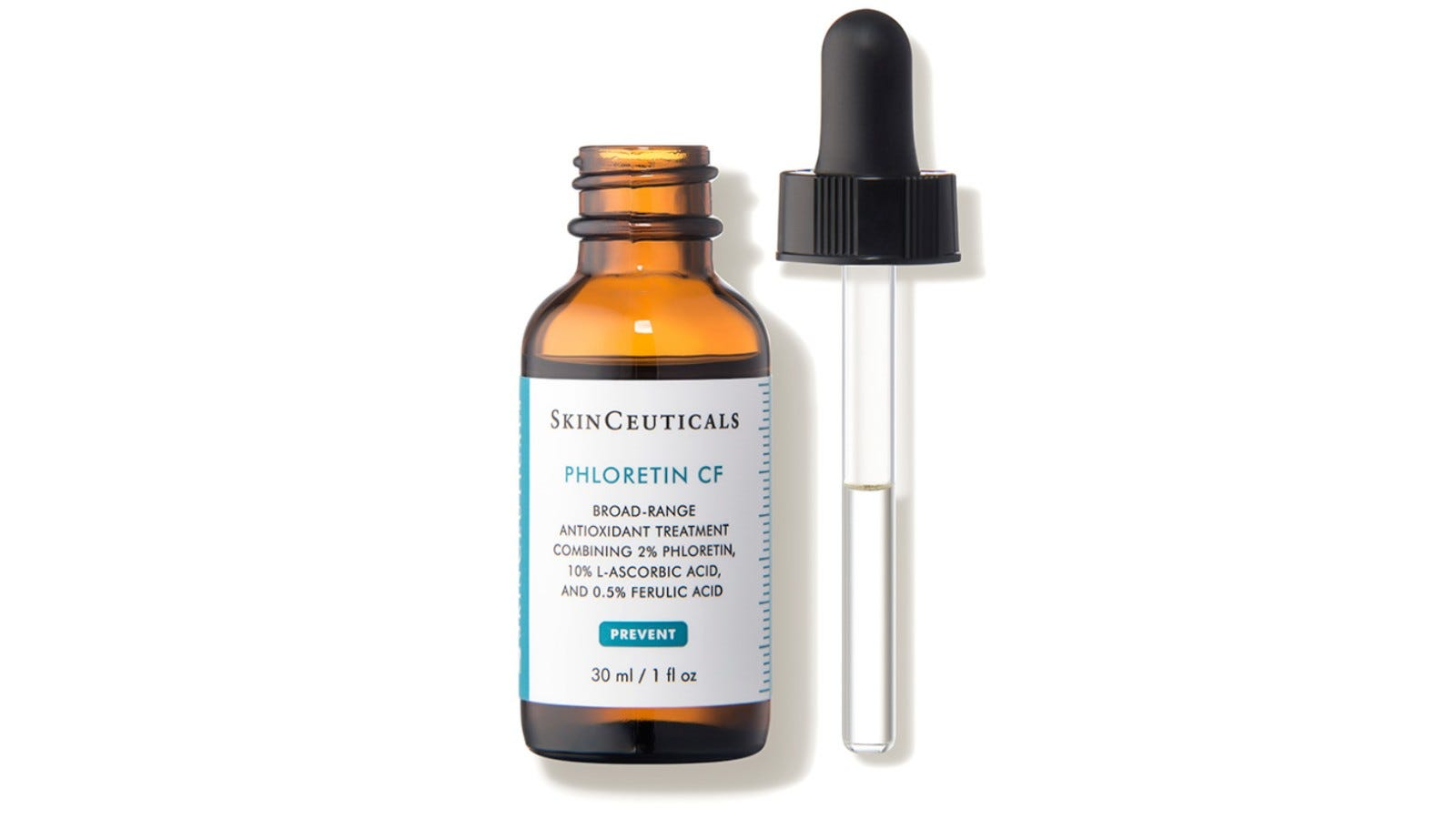 glass bottle of Skinceuticals serum