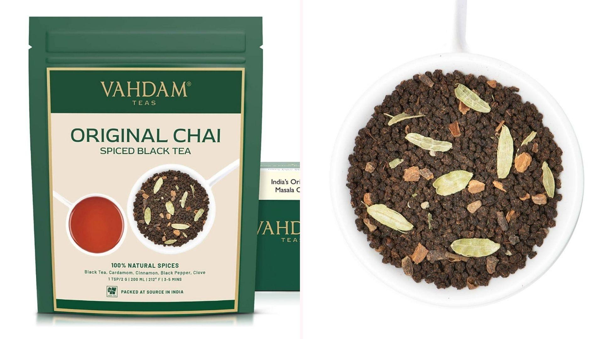 Original chai tea from Vahdam.