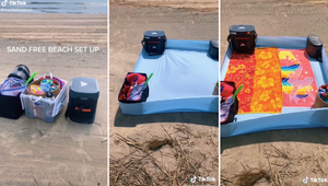 How to Keep Sand Off Your Beach Items with a Fitted Sheet