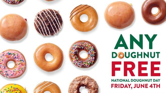 You Can Get TWO Free Doughnuts at Krispy Kreme This Week