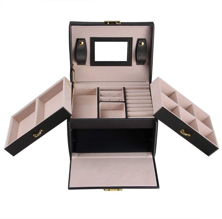 The Three-Layer Jewelry Box.