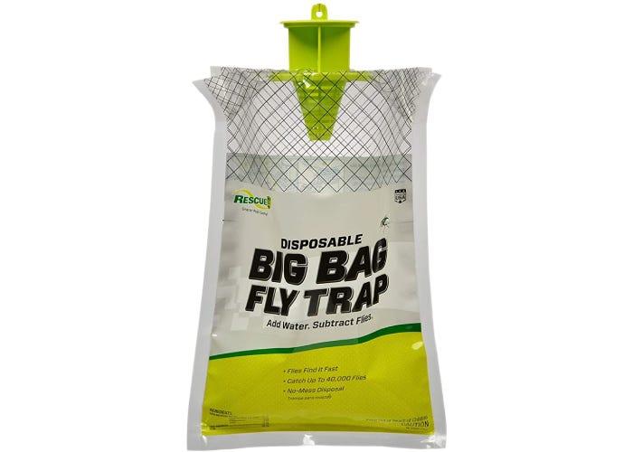 A bag flytrap on white background.