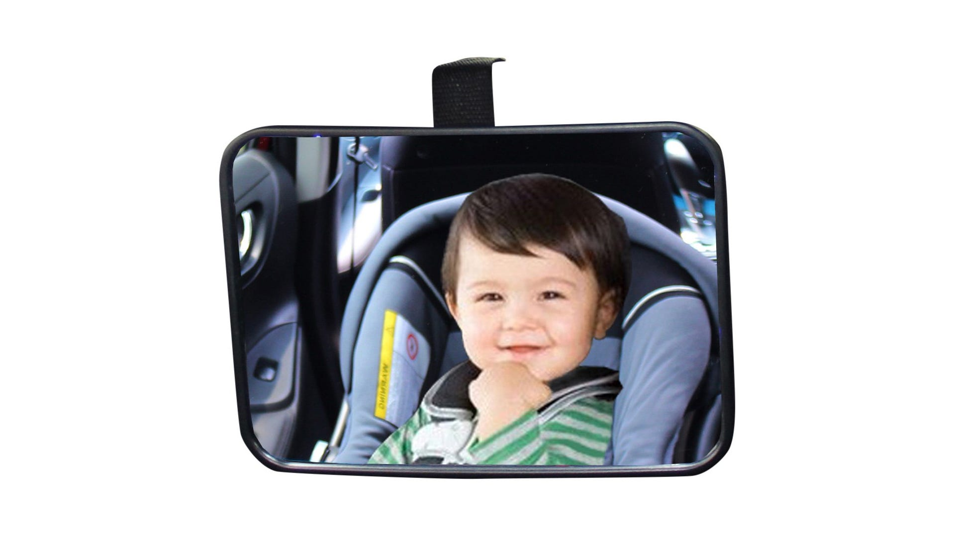 baby car seat mirror viewing child in car seat