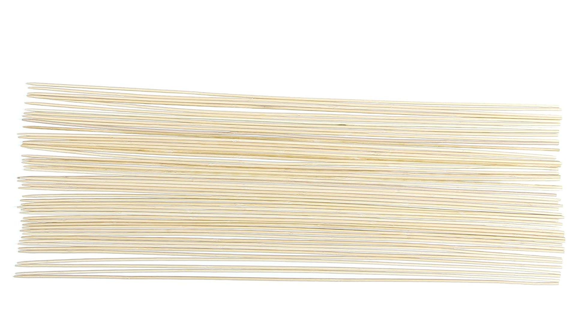 large pack of bamboo roasting sticks
