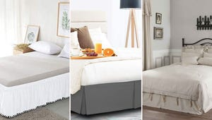 Queen Bed Skirts for Added Bedroom Style
