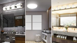 Stylish Light Fixtures for Your Bathroom