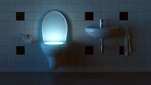 Nifty Toilet Lights for Midnight Trips to the Bathroom