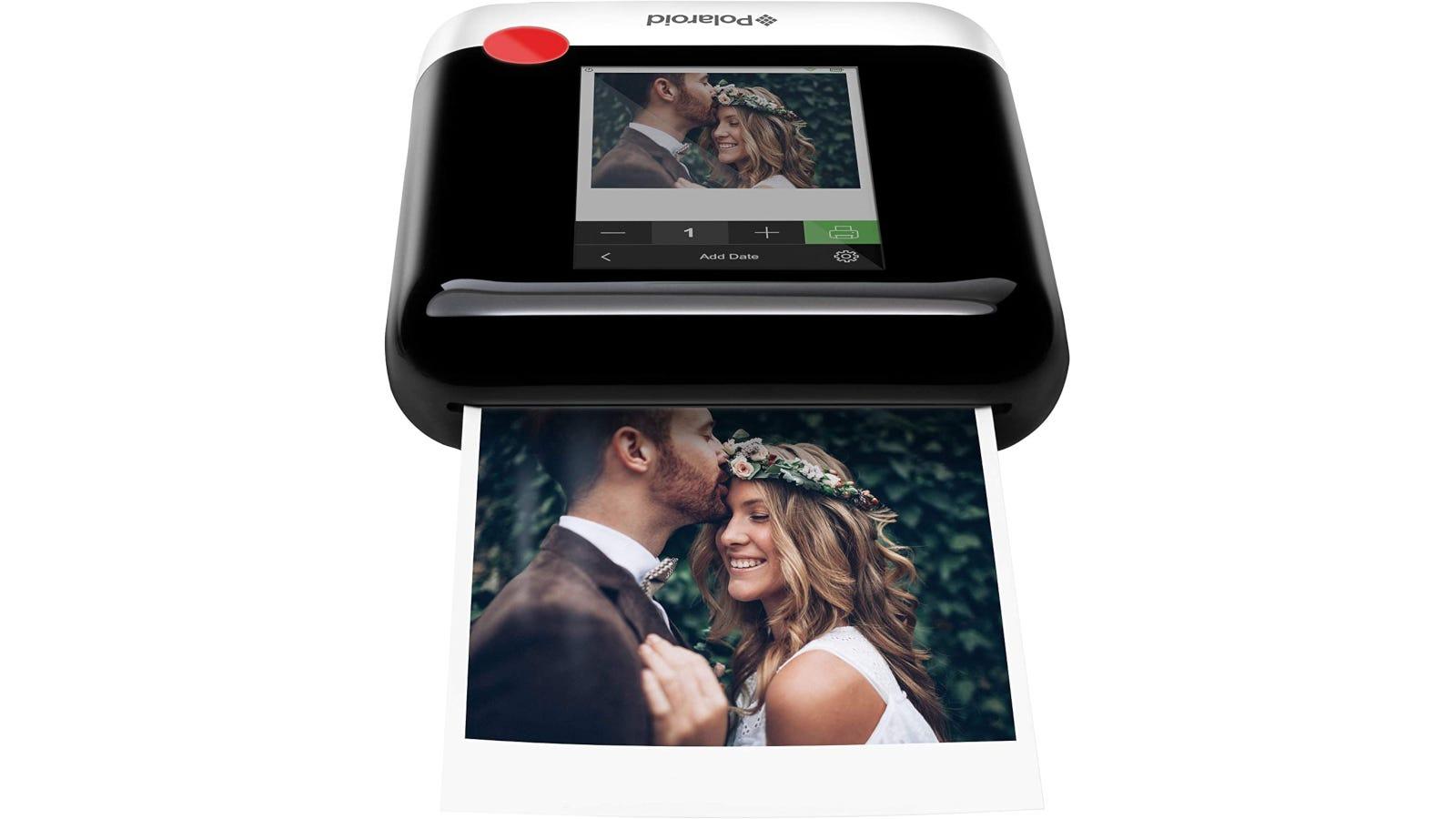 Mini Wi-Fi photo printer for 3x4-inch vintage Polaroid-style prints