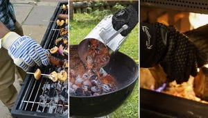 Grill Like a Boss with These BBQ Gloves