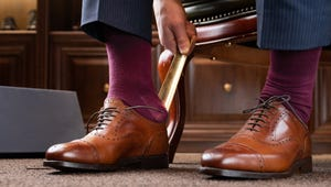 Put Your Shoes On Easily with These Shoe Horns