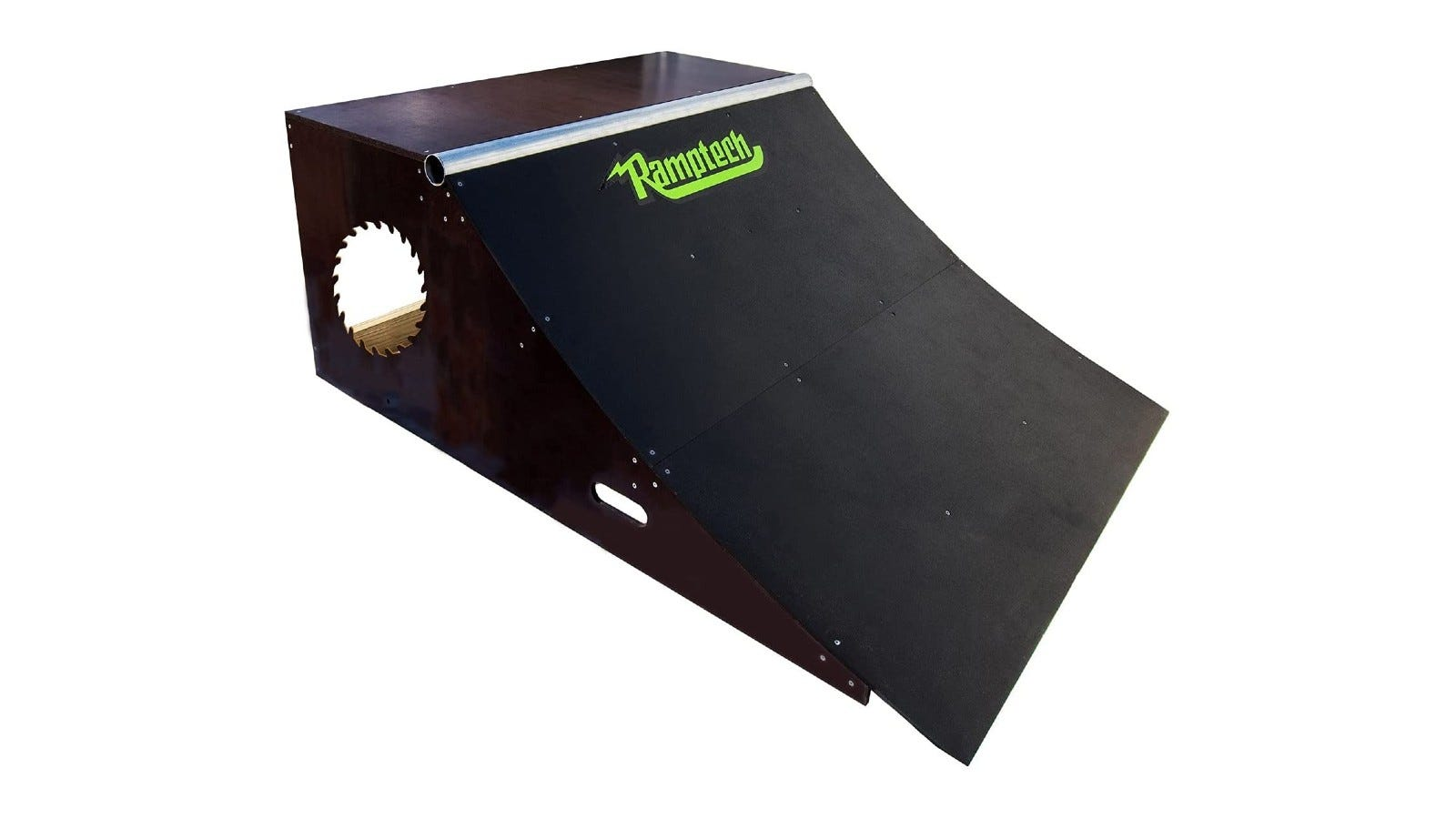 A quarterpipe for improving your transition skills
