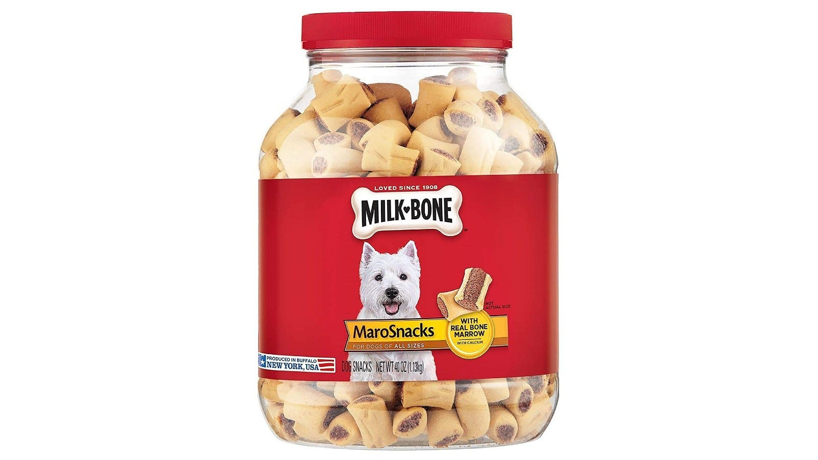 These dog treats are also incredibly nutritional