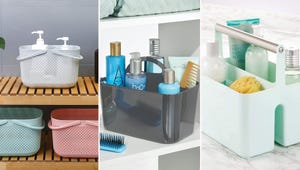 The Best Shower Baskets for Storing Personal Care Products