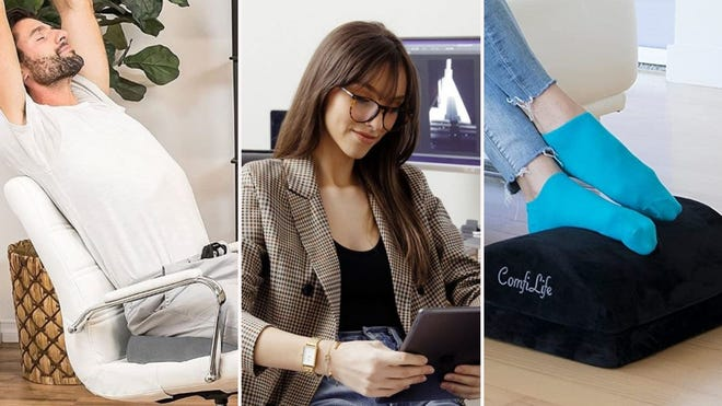 Work All Day in Comfort with These 9 Desk Accessories