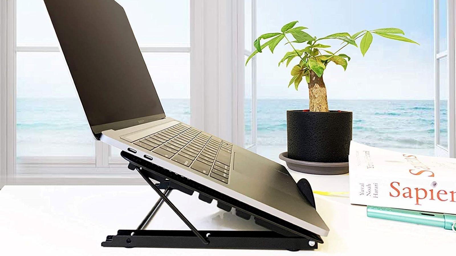 Awezon Adjustable Ventilated Laptop Stand.
