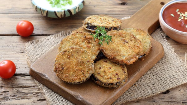 Why You Should Always Have Some Fried Eggplant in the Freezer