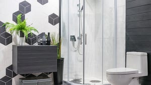 This Kitchen Aid Can Also Clean Your Glass Shower Door