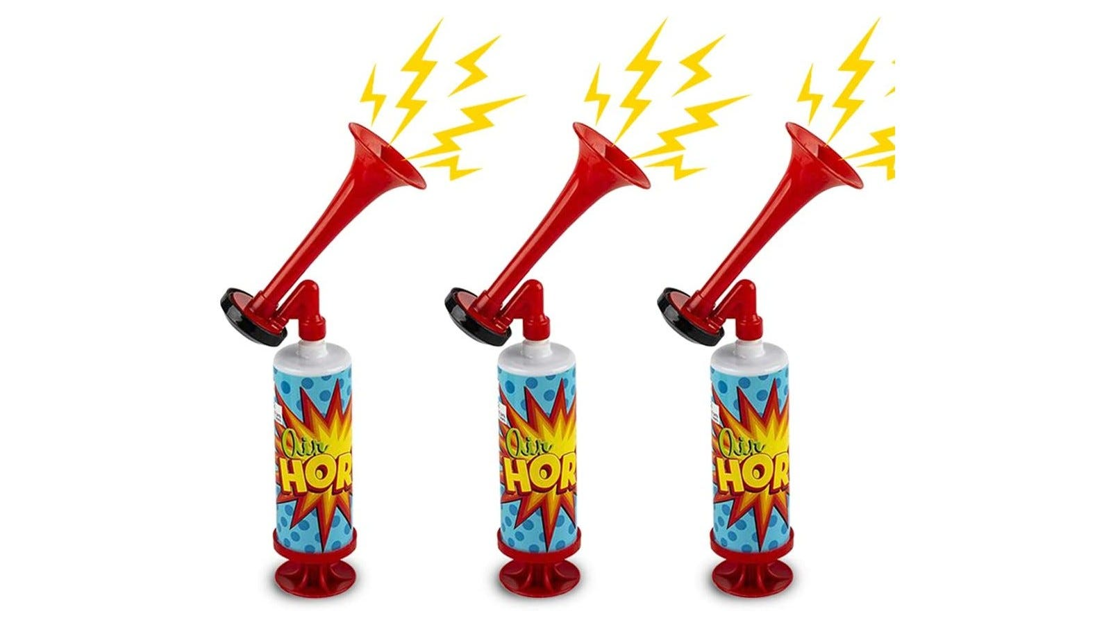 Air horns that are perfect for sporting events