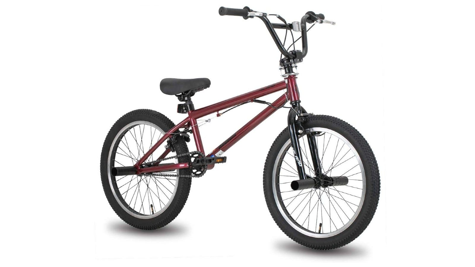 A BMX bike with double U-brakes for better safety