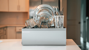 This Self-Contained Countertop Dishwasher Is Perfect for Tiny Kitchens