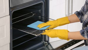 This Common Laundry Item Can Also Clean Your Stove