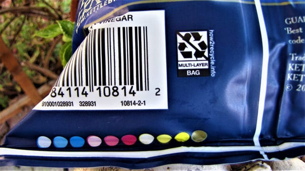 What Do Those Colorful Circles on Your Bag of Chips Mean?