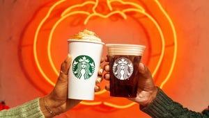 Starbucks' Pumpkin Spice Latte Is Back