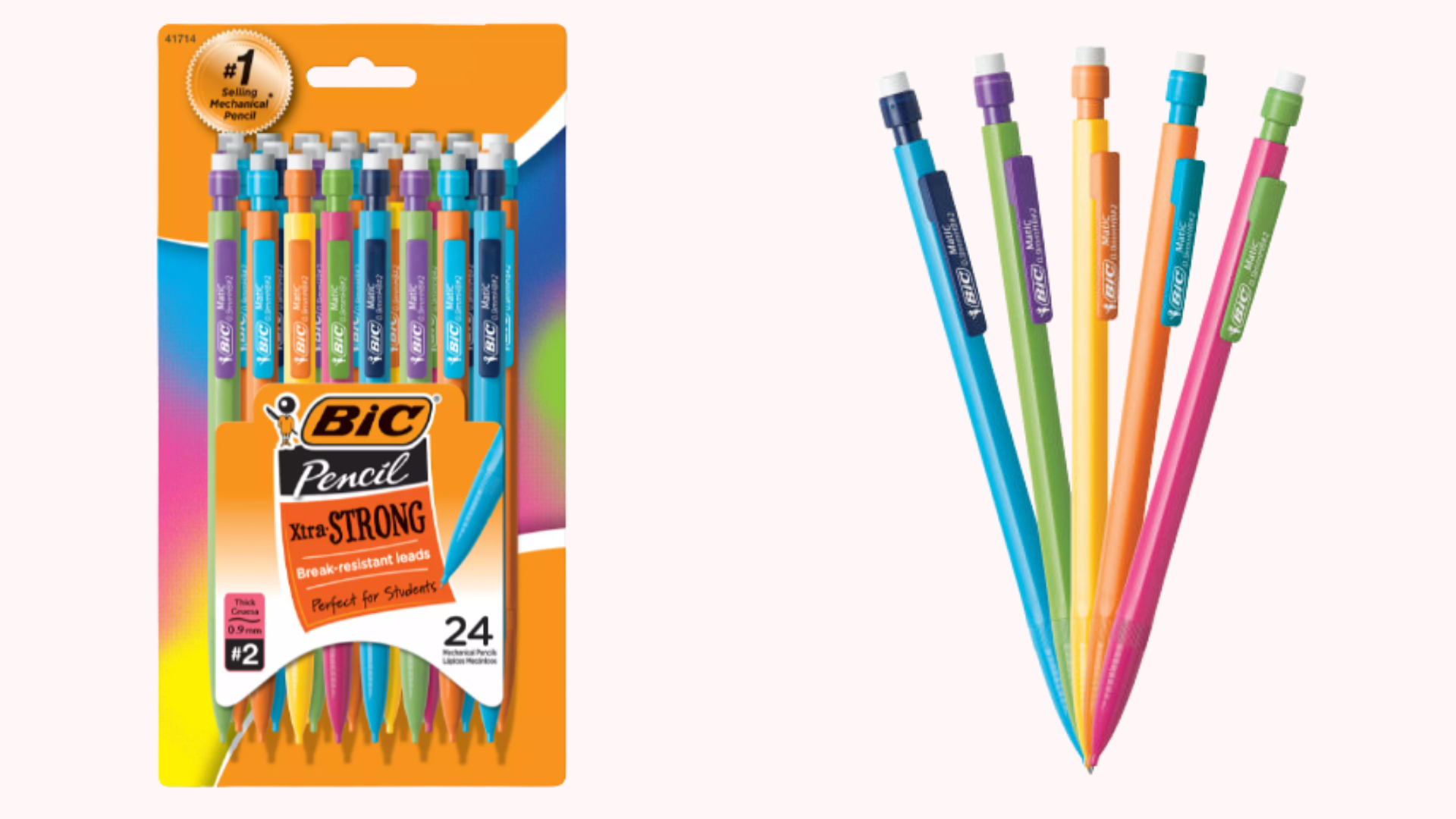 A pack of multi-colored pens